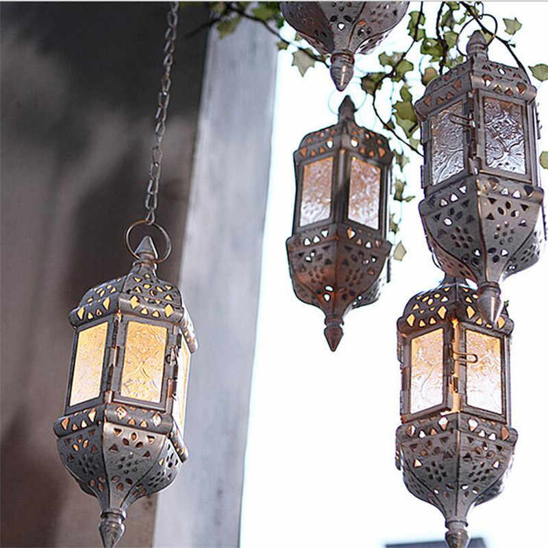 1pc Moroccan Style Wall Hanging Candle