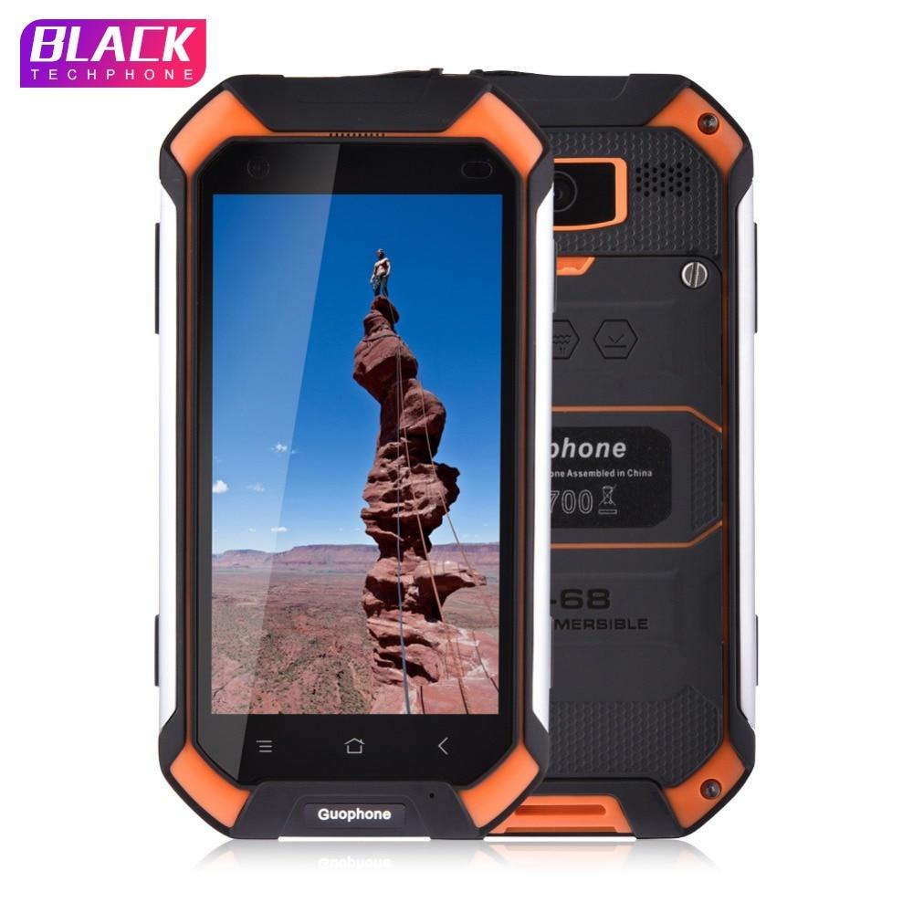 Guophone V19 smartphone 4.5 pouce 2 gb 16 gb IP68 étanche antichoc téléphone MTK6580 Quad Core GPS 3g Android smartphone