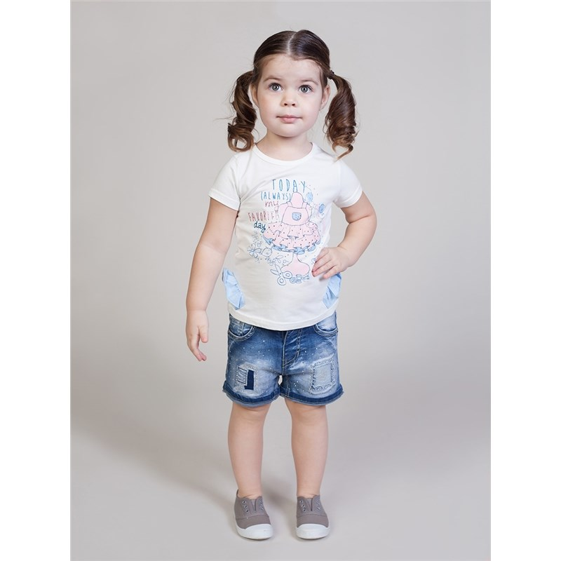 Shorts Sweet Berry Girls denim shorts children clothing kids clothes