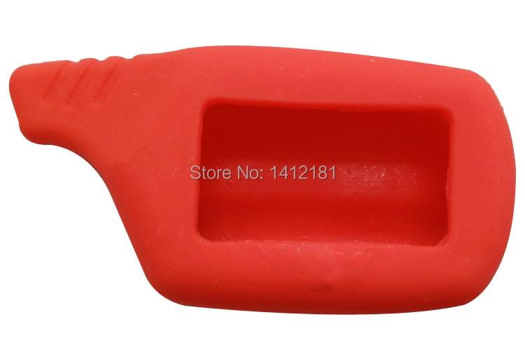 Wholesale B9 B6 Silicone Key Case For 2 Way Lcd Remote Control Keychain Key Chain Fob Starline B9 B6 A91 A61 B91 B61 V7