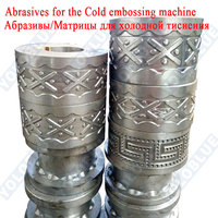 Mold Abrasives matrix matrixs for template cold rolling embossing machine