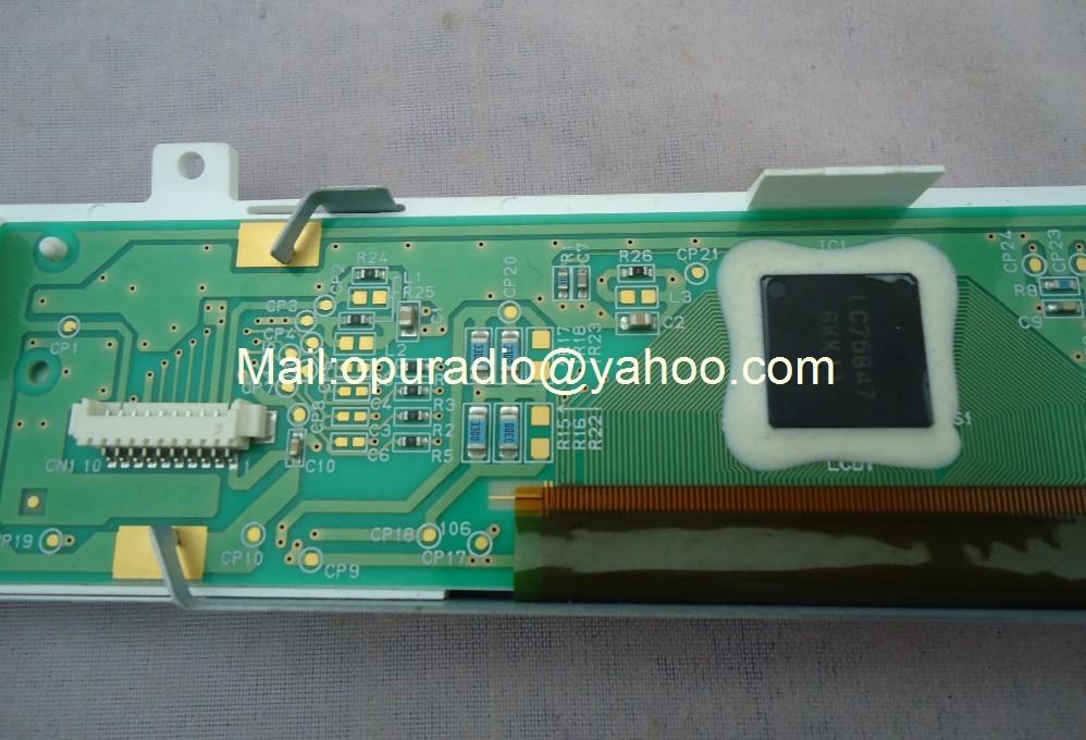 S-12309E ЖК-модули дисплей Сделано в Японии экран для HONDACIVCI автомобиля радио