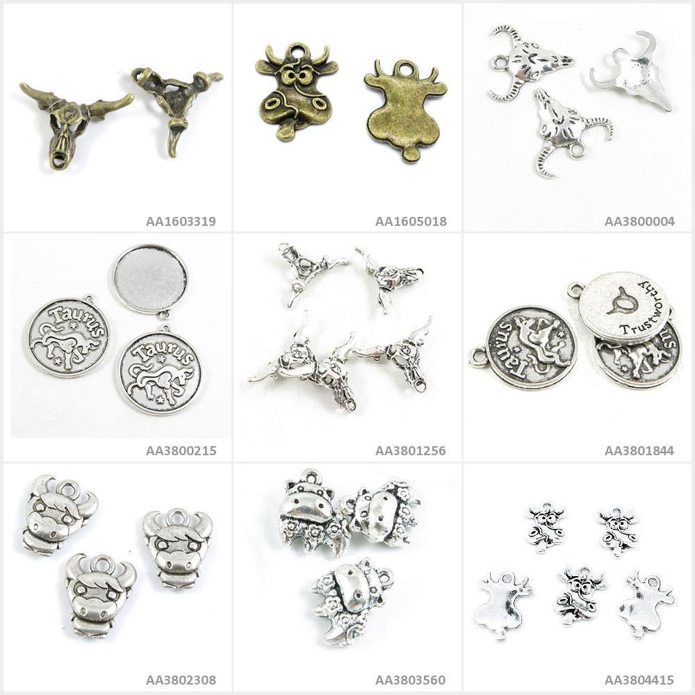 Gemini Charm//Pendant Tibetan Antique Silver 14mm BULK 4 Packs x 8 Charms Crafts