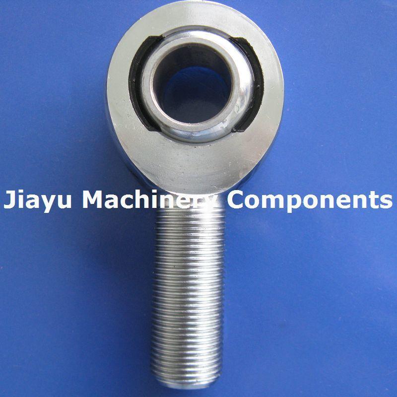 2PCS MXML20 Male Rod Ends 20 X M20x1.5 Chromoly Steel Heim Joints Left Hand MXM20 Rose Joint Bearings
