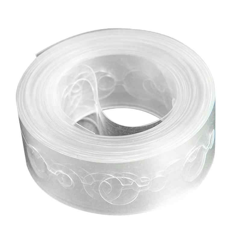 1 pc 5m Balloon Chain Tape Clear Two Holes Arch Connect Strip Party Supplies Balloon Holder for Birthday Wedding Party