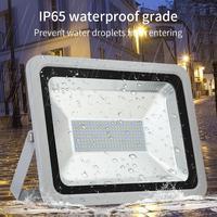 Nova 150 W Luz de Inundação À Prova D' Água com Suporte IP65 220 V Refletor LED Refletor LED de Iluminação Ao Ar Livre Lâmpada Do Jardim