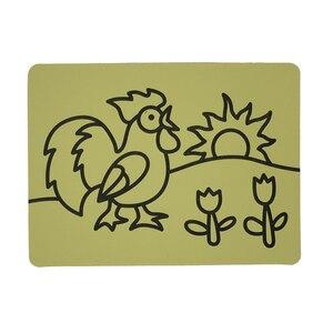 Image 4 - Ücretsiz kargo 2000 adet/lot kartları Renkli Kum için art_15x21cm sıcak satış