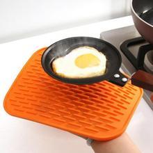 Многоцелевой анти-обжигающий силиконовая подставка нескользящий горшок Подставка Для Сковороды термостойкий коврик кухня канализационная прокладка гаджеты