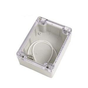 Image 4 - جديد لتقوم بها بنفسك ABS علبة توزيع إلكترونيات IP65 الالكترونيات الصغيرة الضميمة البلاستيك الضميمة مقاوم للماء صندوق وصلات صندوق التبديل ستة حجم