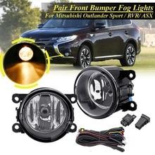 1 пара противотуманных фар передний бампер свет с запитка ламп для Mitsubishi Outlander Sport & RVR 2007-2018/ASX 2014 8321A467