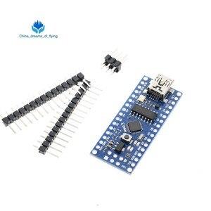 Image 2 - 1 adet Mini USB bootloader Nano 3.0 denetleyicisi ile uyumlu arduino için CH340 USB sürücü 16Mhz NANO V3.0 Atmega328 iyi