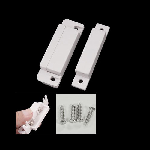 Magnetic Sensor Home Door Window Entry Warning Alarm Switch Security For Apartment, Hotel, Office