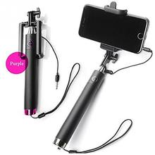 Universal Selfie Stick Monopod for Iphone samsung Android IOS Handheld Extendable Wired Palo Selfie Groove Camera Para hot~