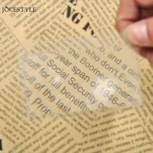 1/10pcs Credit Card Magnifiers Transparent 3 X Magnifier Magnification Magnifying Fresnel for Jewelry Jewel identification(China)