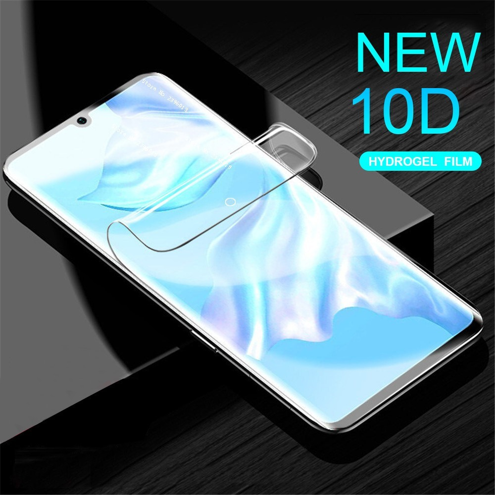 1D Curved Full Cover Hydrogel Film For Huawei P 20 30 P30Pro Mate 20 Lite P Smart Plus HD Screen Protector For Nova 4E 3i 4 Film