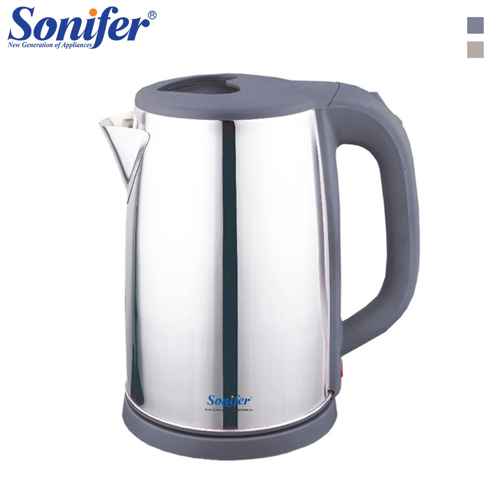 Electric Kettle Stainless Steel Household Kitchen Fast Heating Teapot 220v 2200w