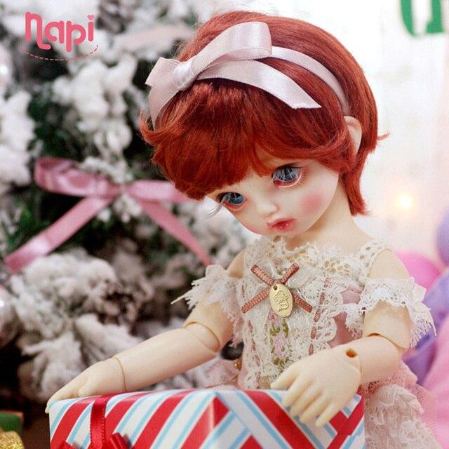 New arrival Napi Karou 1/6 Yosd BJD Dolls Resin SD Toys for Children Gift for Boys Girls Birthday Open Eyes Fixed Teeth