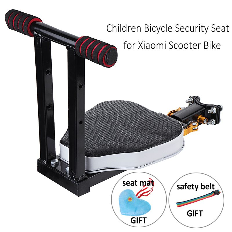 Scooter Bike Baby Kid Security Seat With Seat Pad Safety Belt Gifts For Xiaomi Electric Scooter Bike Front Back Children ChairScooter Bike Baby Kid Security Seat With Seat Pad Safety Belt Gifts For Xiaomi Electric Scooter Bike Front Back Children Chair