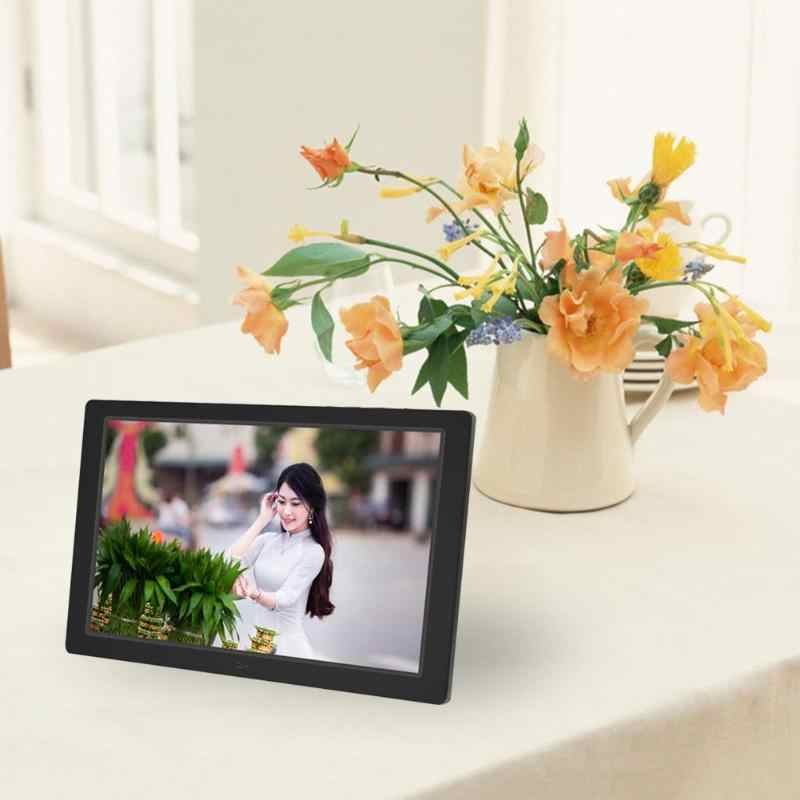 12.1 Inch Digital Remote Control Photo Frame HD 1280x800 LED Display Back-light Electronic Album Picture Music Video New
