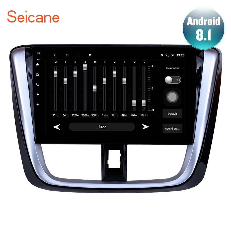 Seicane 10 1 inch for 2014 2016 2017 TOYOTA VIOS Yaris Android 8 1 7 1