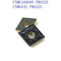 כלי קרביד כלי cnc קרביד מכניס CNMG160608 PM 4225 סגסוגת קשה CNC מפנה כנס כלי חיתוך cnmg 160,608 מחרטה חותכת (4)