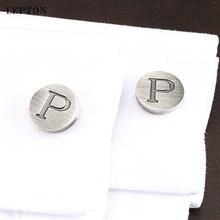 Лептон буквы алфавита p запонки для мужчин классические античные