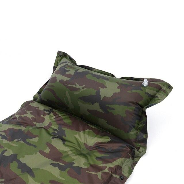 Self Inflating Camping Roll Mat Sleeping Bed Inflatable Pillow Mattress 5