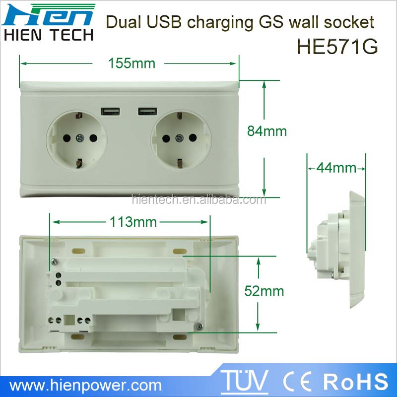 Wiring spanish socket introduction to electrical wiring diagrams europe usb wall socket eu standard wall socket with usb charging rh aliexpress com ethernet wall jack wiring cetech wiring cat5 wall plate cheapraybanclubmaster Gallery