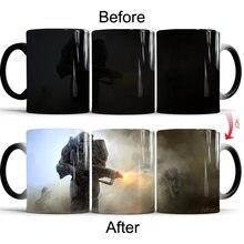 Fallout 4 кофейные кружки Меняющие цвет чайная чашка новинка