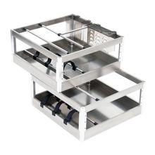 Pantries Dish Drainer Keuken Colgar En La Ducha Stainless Steel Cozinha Cuisine Kitchen Cabinet Cestas Para Organizar Basket