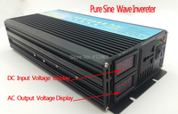 DC 24V to AC 220V pure sine wave power off grid inverter 2500 watt with wired 5000 watt peak converters