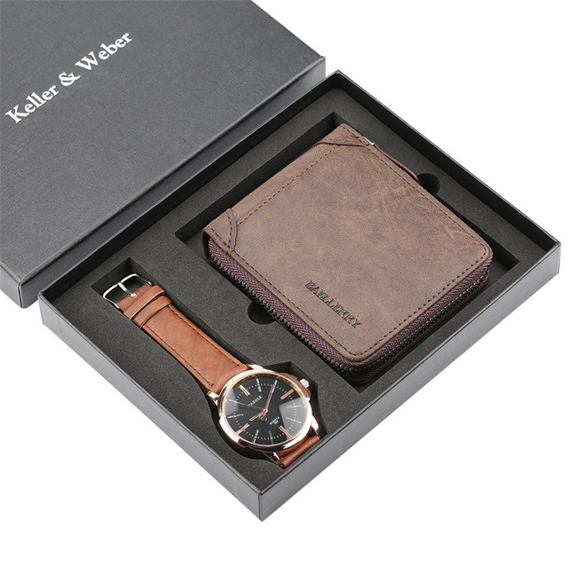 Watch Gift Set Quartz Mens Watch Leather Wallet Fashion Watch for Men Birthday Gift for Male Luxury Wristwatch Present reloj  sc 1 st  AliExpress & Watch Gift Set Quartz Mens Watch Leather Wallet Fashion Watch for ...