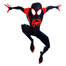 Movie Spider-Man: Into the Spider-Verse Fancy Dress Miles Morales Cosplay Outfit Superhero Halloween Party Costume