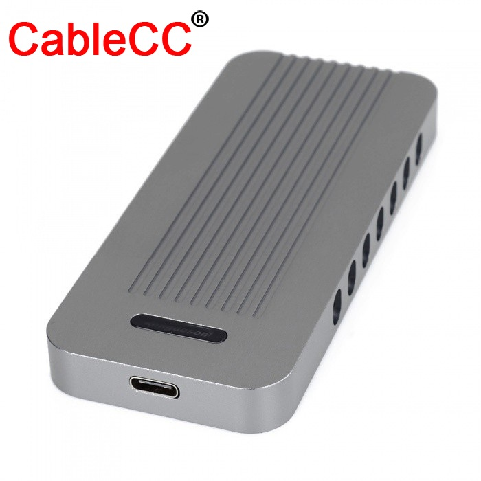 Cablecc Usb-c Enclosure Usb 3.1 3.0 Tipo-c A Nvme Ahci M-chiave M.2 Ngff Pci-e 2 Corsia Ssd Adattatore