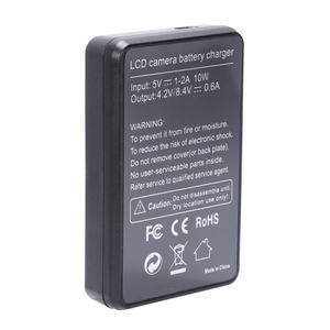 Image 5 - Smart Rechargeable Battery Charger Lcd Display Single Slot W Usb Cable For Np Bd1/Fd1/Ft1/Fr1 Lithium Batteries