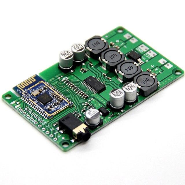 AIYIMA Bluetooth 5.0 2x15W carte amplificateur Audio Bluetooth sans fil Amplificador prise en charge commande série changement de nom mot de passe