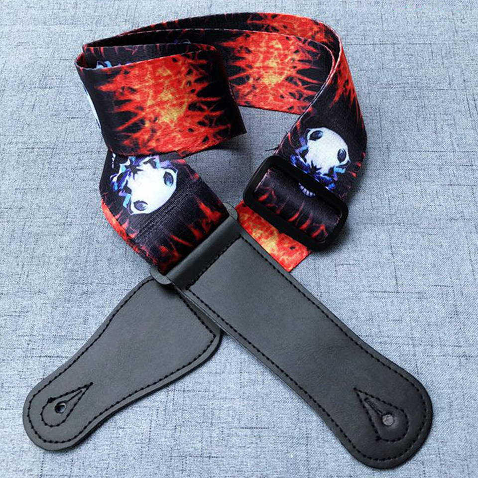 Fire and Lightening Leather Belt