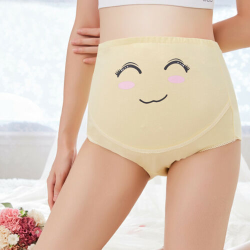 Cotton Pregnancy Maternity Panties Women Underwear For Pregnant Knickers Underpants Cartoon Postpartum Briefs Short Pants in Shorts from Mother Kids