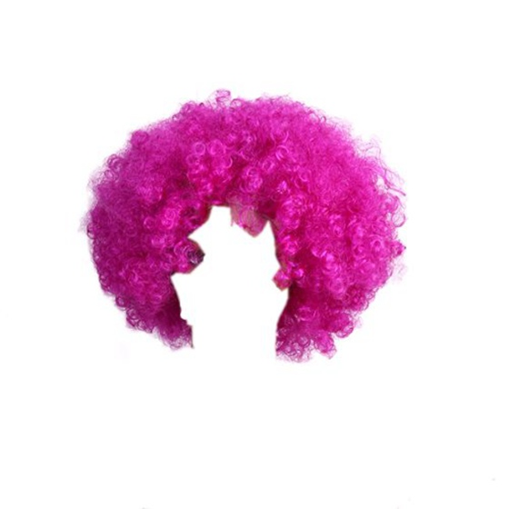 Short Curly Wig Afro-Hair Costume Cosplay Hairpiece
