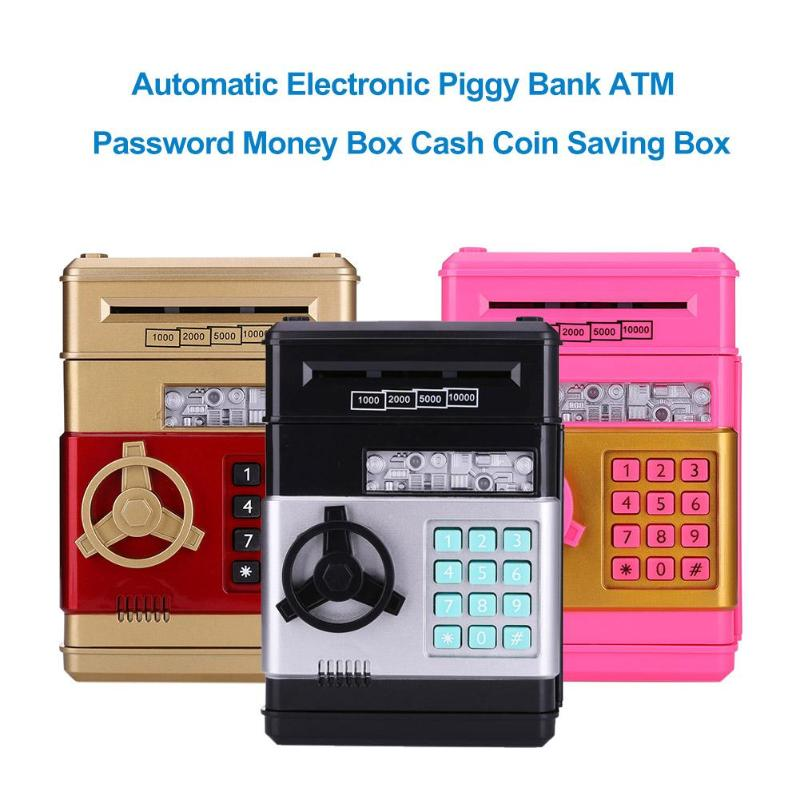 Safe Deposit Atm Machine Kid Electronic