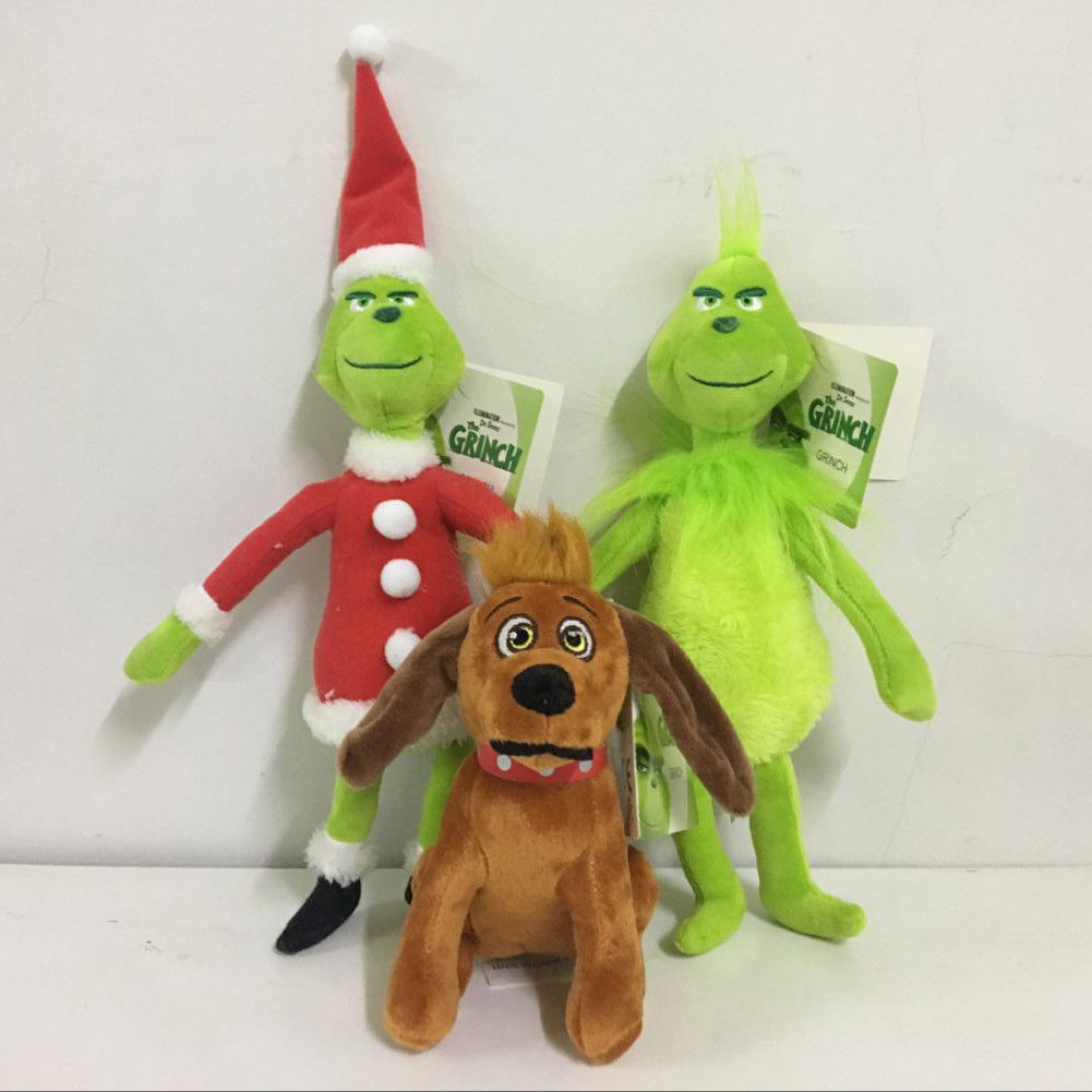 Pudcoco How The Grinch Stole Christmas Stuffed Plush Toy Grinch Christmas Gifts