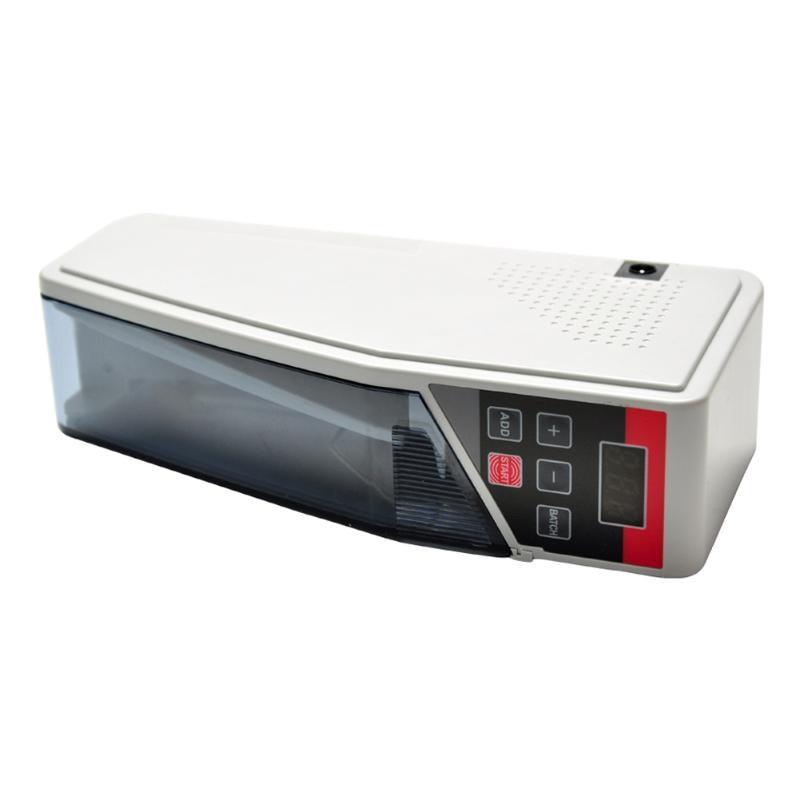 V40 ミニポータブルハンディマネーカウンターほとんど紙幣ビル現金計数機レザーバッグ  グループ上の パソコン & オフィス からの 電卓 の中 1