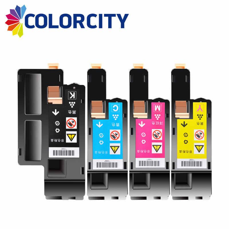 1 pc COLORCITY kompatybilne kasety z tonerem dla drukarka Xerox Docuprint CM115w CM115 CM225w CM225 CP115w CP115 CP116w CP225W CP225 drukarki
