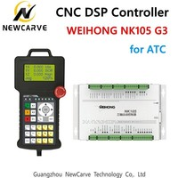 Original Weihong NK105 G2 G3 DSP Controller 3 Axis NC Studio Motion Control System For CNC Router ATC Machine NEWCARVE