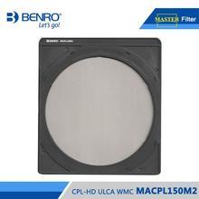 Máy Ảnh Benro FMACPL150M2 Kính Lọc CPL Chủ CPL HD ULCA WMC Cho FH150M2 MACPL150M2 Đa Lớp Phủ Kính Lọc Phân Cực Miễn Phí Vận Chuyển