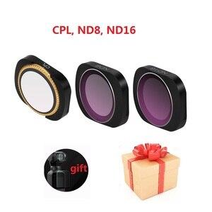 Image 2 - OSMO için cep 2 kamera filtre MCUV CPL ND 8 4 16 32 64 ND PL yoğunluk filtreleri seti DJI osmo cep cam Lens aksesuarları
