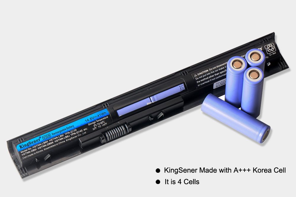 Аккумулятор Korea Cell VI04 для HP Pavilion 17 15 ENVY - Аксессуары для ноутбуков - Фотография 2