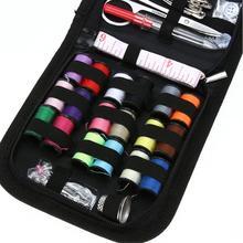 Швейный набор швейная коробка черный швейный набор швейный инструмент Комбинация 70 шт. набор Высокое качество доставка