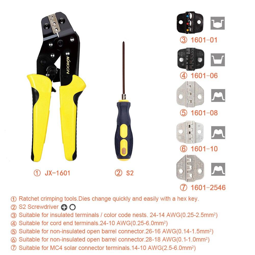 Image 4 - KKmoon Профессиональный обжимной инструмент Обжимные Щипцы многофункциональные инженерные обжимные клещиПлоскогубцы    АлиЭкспресс