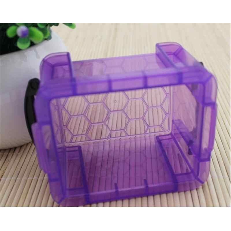 Новая Домашняя конфетная цветная коробка для хранения с зажимом для крышек, Мини Милая настольная коробка для хранения, отделочная коробка для хранения в доме
